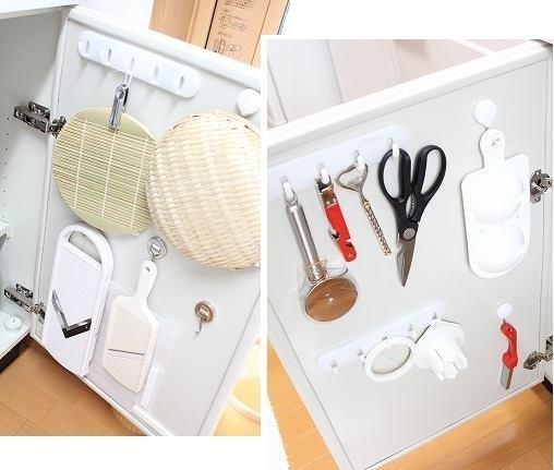 Trang trí căn bếp nhỏ với 7 cách xếp đồ thông minh của người Nhật